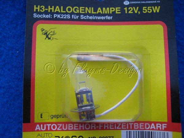 H3 12V 55W P22S AROSO