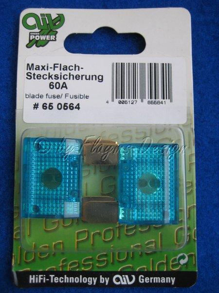 MAXI FLACHSTECK SICHERUNG (2 Stück) 60A AIV