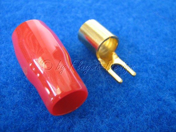 Gabel Kabelschuh für -25qmm Kabel (Quetschverbindung)