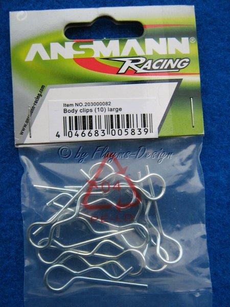 Karosseriesplinte Ansmann Racing