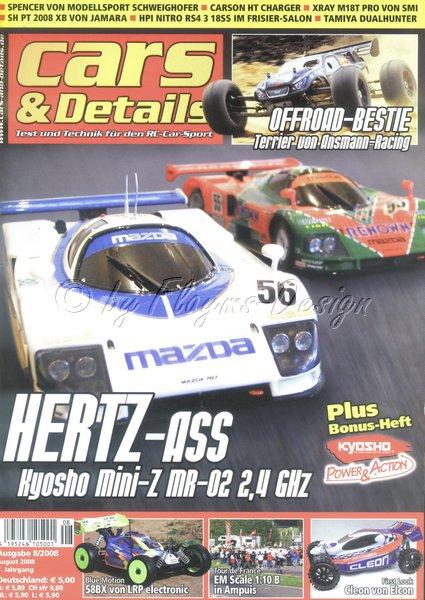 Zeitschrift Cars & Details