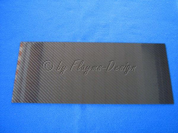 CFK-PLATTE 350 X 150 X 1,0 +/-0,15