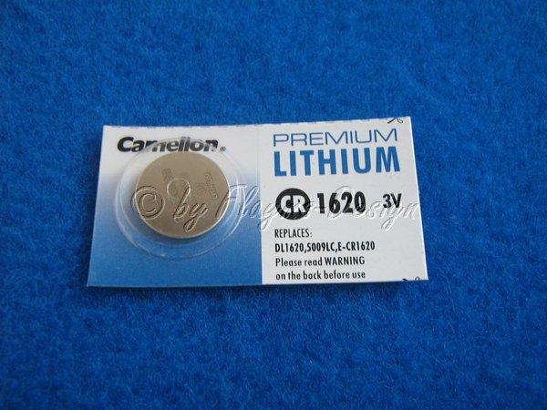 CR1620 3V LITHIUM KNOPFZELLE