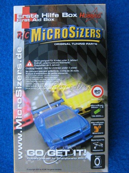 Erste Hilfe Ersatzteilbox Microsizers