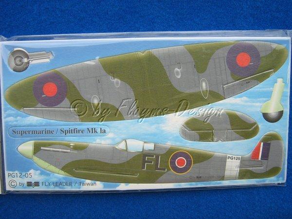 POCKET GLIDER SERIES FLUGZEUG Spitfire