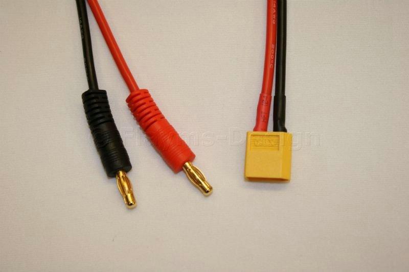 Ladekabel für Akkus mit XT-60 Anschluss