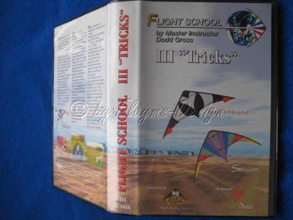 VHS Video Kassette Flight School III Tricks HQ Invento I601065
