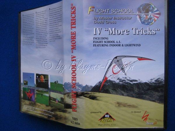 VHS Video Kas. Flight School IV More Tricks HQ Invento I601067