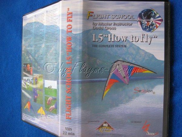 VHS VIDEO KASSETTE FLIGHT SCHOOL 1.5 DEUTSCH