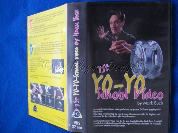 VHS VIDEO KASSETTE YO-YO SCHOOL