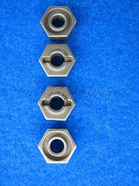 Metall sechskant Radmitnehmer 12mm (4) Verbrenner Zubehör CEN