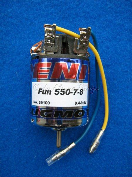 ZENIT FUN 550-7-8 Preisgünstiger Flugmotor