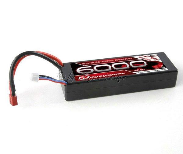 6000er 50C Li-Po Akku Pack