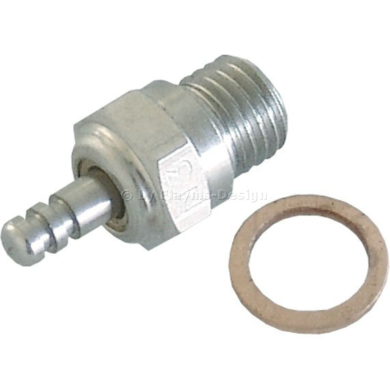 GLÜHKERZE Nr.4 robbe medium für 2,5-4ccm Motor