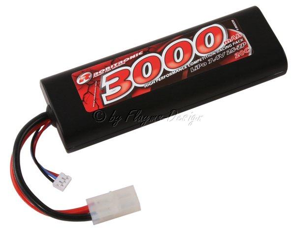 Lipo Car Pack 3000