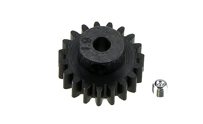 17Zähne Stahlritzel Ritzel  M0,8