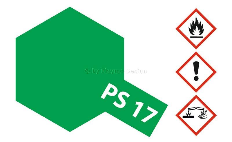PS17 Metallik grün