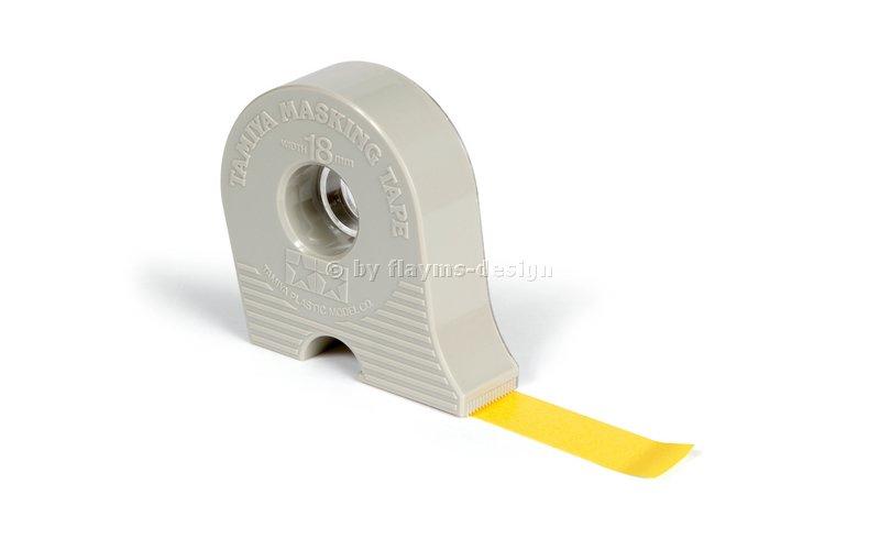 Masking Tape 18mm / 18m mit Abroller 87032 Tamiya Scheibenabkleber