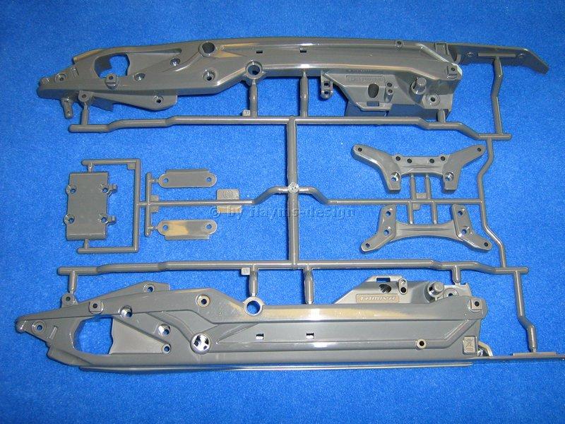 Dämpferbrücken Chassis DT-03