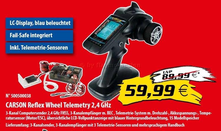 Reflex Wheel Telemetrie - RC Fachhandelsaktion