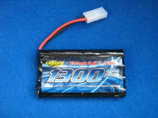 POWER PACK 1300MAH 9,6V für Crawler