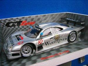 Mercedes CLK - GTR 1:18 Warsteiner D2 STANDMODELL RARE