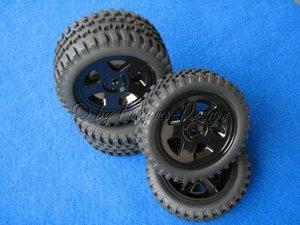 Reifen Felgen Set All Terrain schwarz Carson Nr.900027