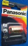 CR123A Photo Lithium Batterie 3V 1400mAh